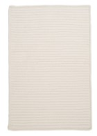 Colonial Mills Simply Home Solid H141 White RUG