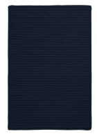 Colonial Mills Simply Home Solid H561 Navy RUG