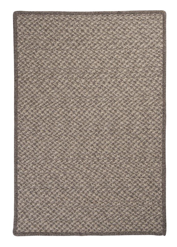 Colonial Mills Natural Wool Houndstooth HD32 Gray RUG