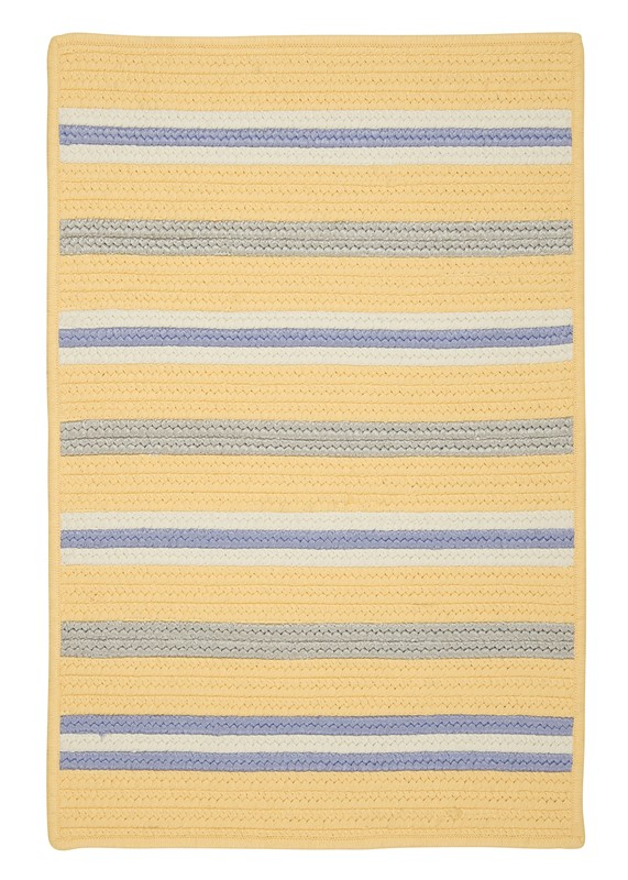 Colonial Mills Painter Stripe  Kids Summer Sun Rugs
