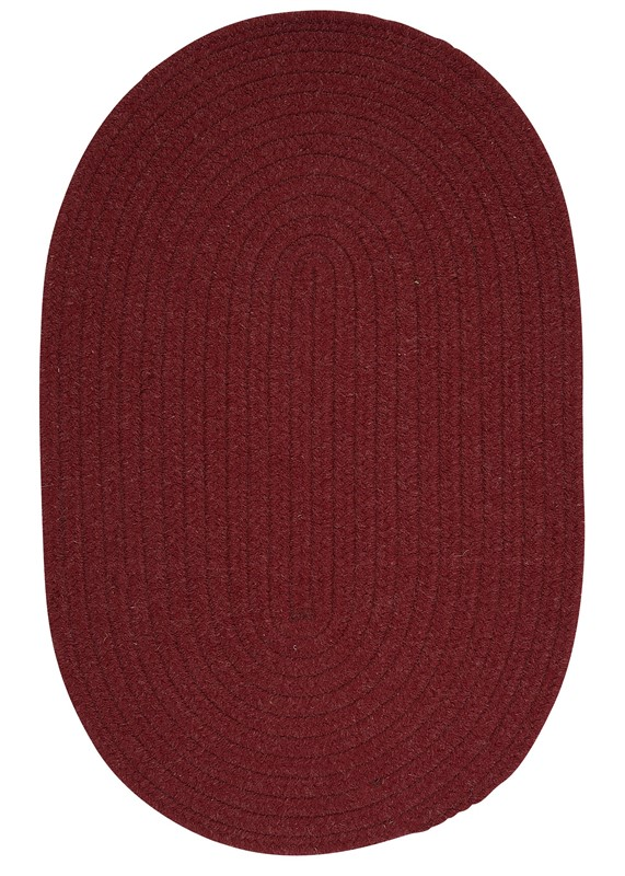Colonial Mills Bristol WL52 Red RUG