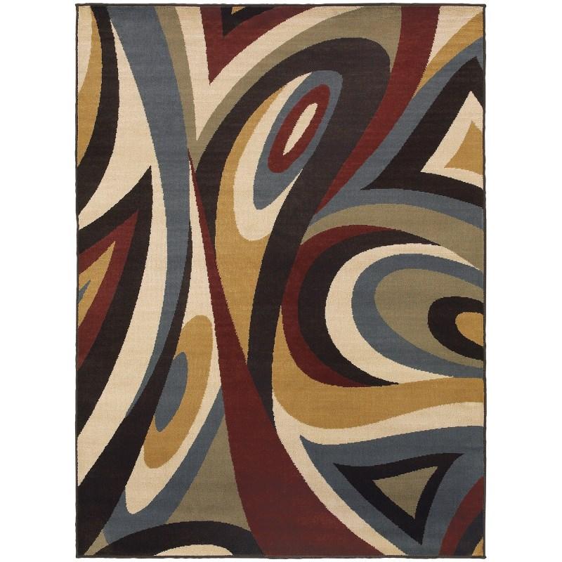 oriental-weavers-stratton-6016b-brown-rug