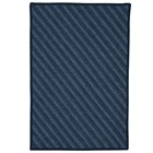 Colonial Mills Blue Hill Modern Navy Rugs