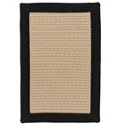 Colonial Mills Bayswater Rustic Farmhouse Black Rugs