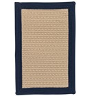 Colonial Mills Bayswater Rustic Farmhouse Navy Rugs