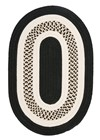 Colonial Mills Flowers Bay FB41 Black RUG