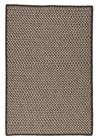 Colonial Mills Natural Wool Houndstooth Rustic Farmhouse Espresso Rugs