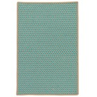 Colonial Mills Point Prim Modern Teal Rugs