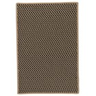 Colonial Mills Point Prim Modern Black Rugs