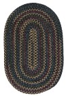 Colonial Mills Midnight Rustic Farmhouse Rugs MN47