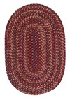 Colonial Mills Midnight MN87 Red RUG