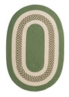 Colonial Mills Crescent NT61 Green RUG