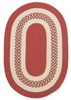 Colonial Mills Crescent NT71 Red RUG