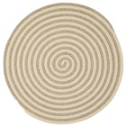 Colonial Mills Woodland Round Modern Natural Rugs