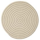 Colonial Mills Woodland Round Modern Light Gray Rugs