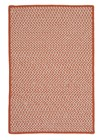 Colonial Mills Outdoor Houndstooth Tweed OT19 Orange RUG