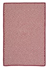 Colonial Mills Outdoor Houndstooth Tweed OT79 Red RUG