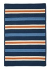 Colonial Mills Painter Stripe  Kids Set Sail Blue Rugs