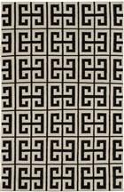 Ecarpet Kerala  Black/Cream RUG