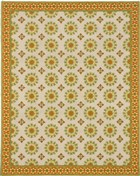 Ecarpet Samarkand  Ivory/Light Green RUG