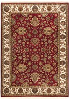 Ecarpet Mirzapur  Dark Red RUG