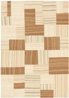 Ecarpet Moldovia Patch  Brown/Cream RUG