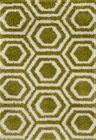 Green/ivory Rug