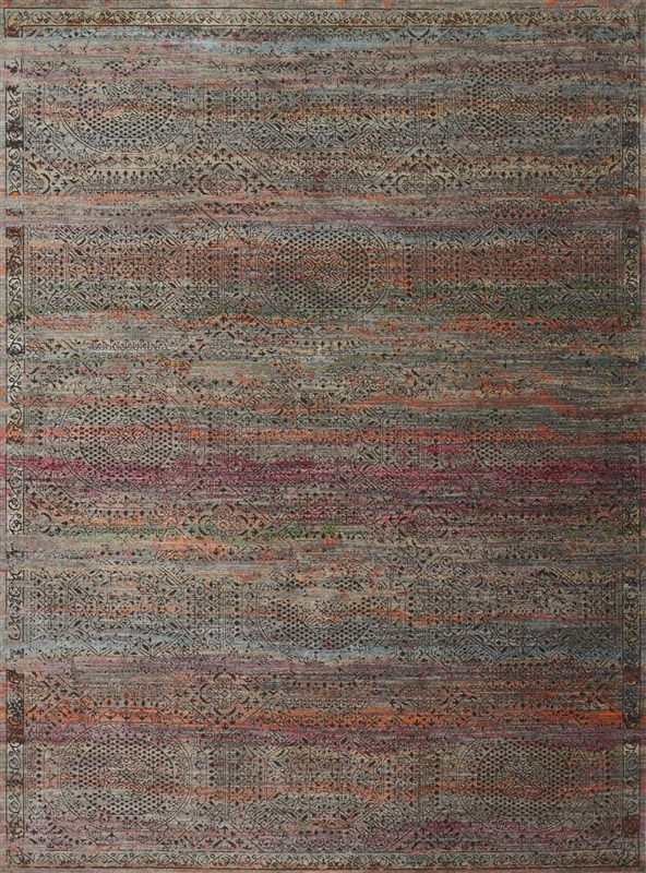 Loloi-JAVARI-CHARCOAL-/-SUNSET-Contemporary-Rug