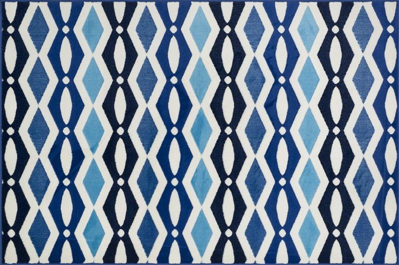 Loloi JUNIPER JN03 IVORY / BLUE Rug