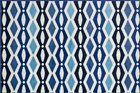 Ivory/blue Rug