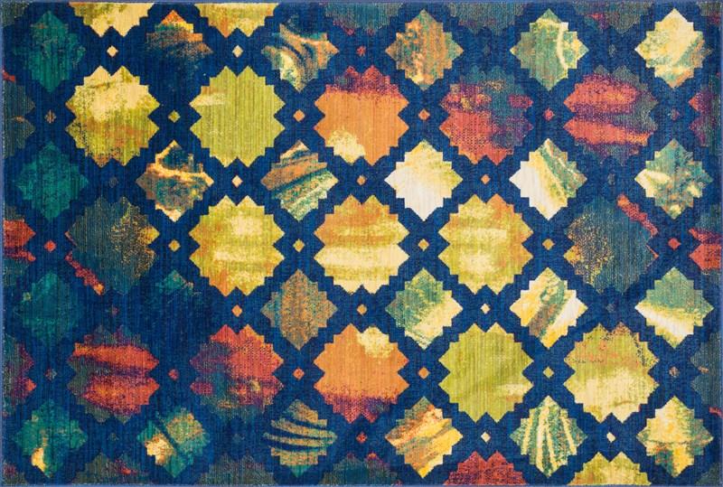 Loloi LYON  BLUE / MULTI Rug