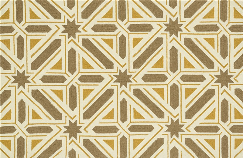 Loloi PALM_SPRINGS PM04 TAUPE / GOLD Rug