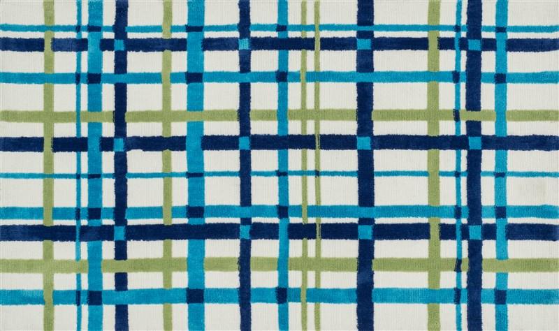 Loloi PIPER PI11 BLUE / GREEN Rug