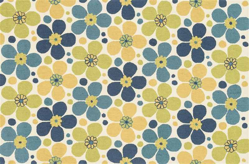 Loloi SUMMERTON  IVORY / BLUE Rug