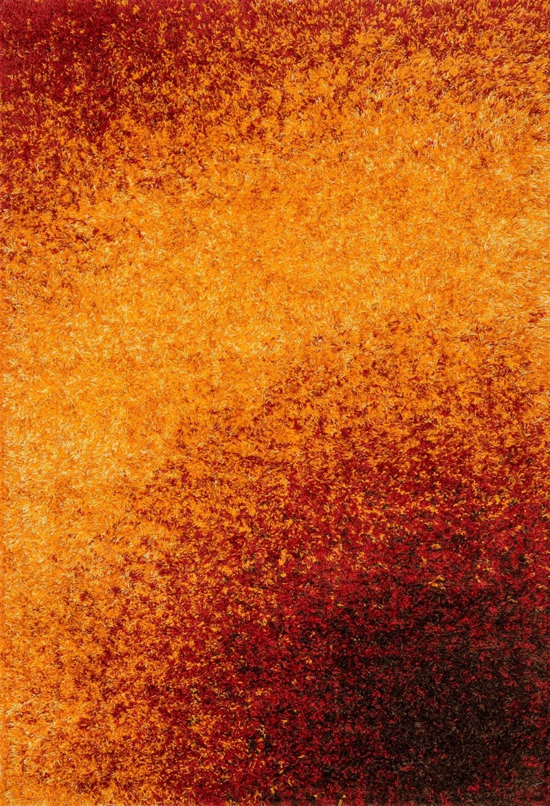 Loloi BARCELONA SHAG BS01 SUNSET Rug