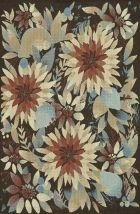 Multi/floral Rug