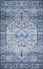 Loloi Cielo CIE-02 IVORY / DENIM Rug by Justina Blakeney