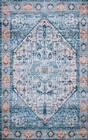 Loloi Cielo CIE-03 IVORY / SUNSET Rug by Justina Blakeney