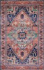 Loloi Cielo CIE-06 CORAL / MULTI Rug by Justina Blakeney