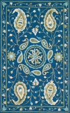 Loloi FRANCESCA FC53 BLUE / GREEN RUG