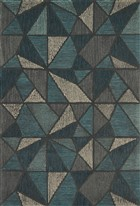 Loloi Gemology GQ-01 TEAL / GREY Rug by Justina Blakeney
