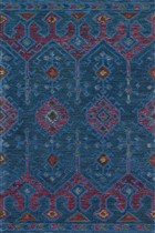 Loloi Gemology GQ-02 BLUE / PLUM Rug by Justina Blakeney