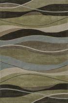 Loloi GRANT GR06 OLIVE / BROWN RUG