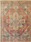 Loloi JAVARI BERRY / SUNRISE Contemporary Rug