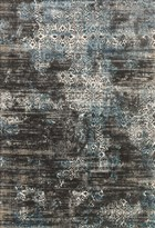 Loloi KINGSTON KT02 CHARCOAL / BLUE RUG