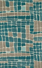 Loloi NOVA NV01 TEAL / GREY RUG
