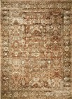 Loloi Sebastian Traditional Rust Rugs SEB-01