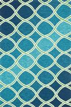Loloi VENICE BEACH VB18 BLUE / GREEN Rug