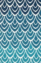 Loloi VENICE BEACH VB20 BLUE / MULTI RUG