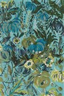 Loloi WILD BLOOM AQUA / GREEN Contemporary Rug